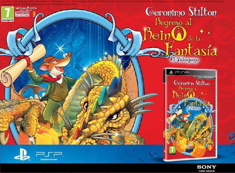 Geronimo Stilton SONY PSP