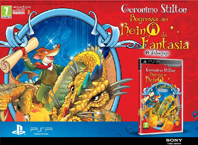 Geronimo Stilton SONY PSP