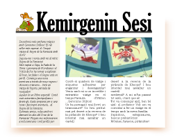 Kemirgenin Sesi gazetesi için makale yaz - Write un articolo de l'ECO del RODITORE -