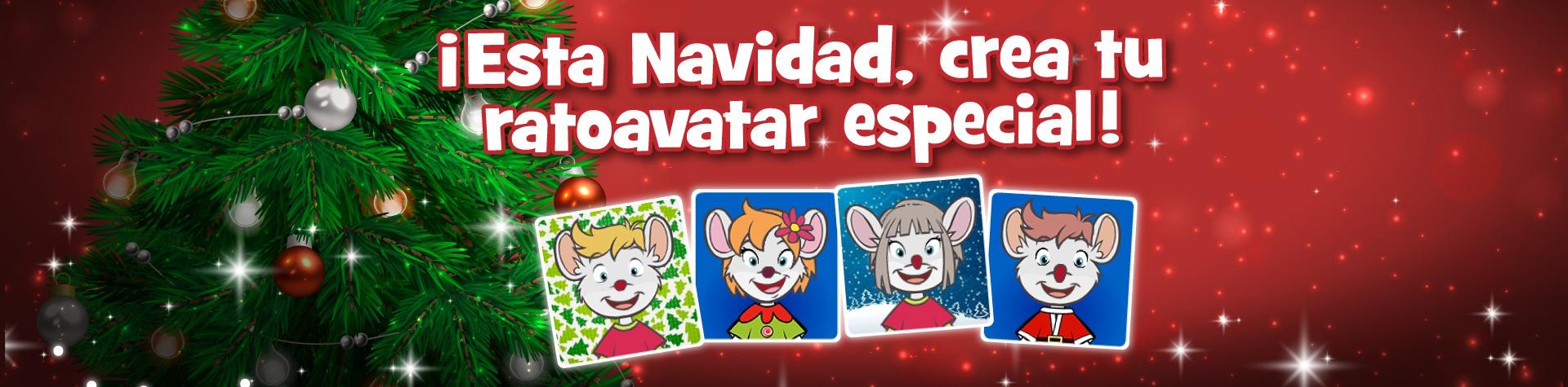 Crea tu ratoavatar de Navidad