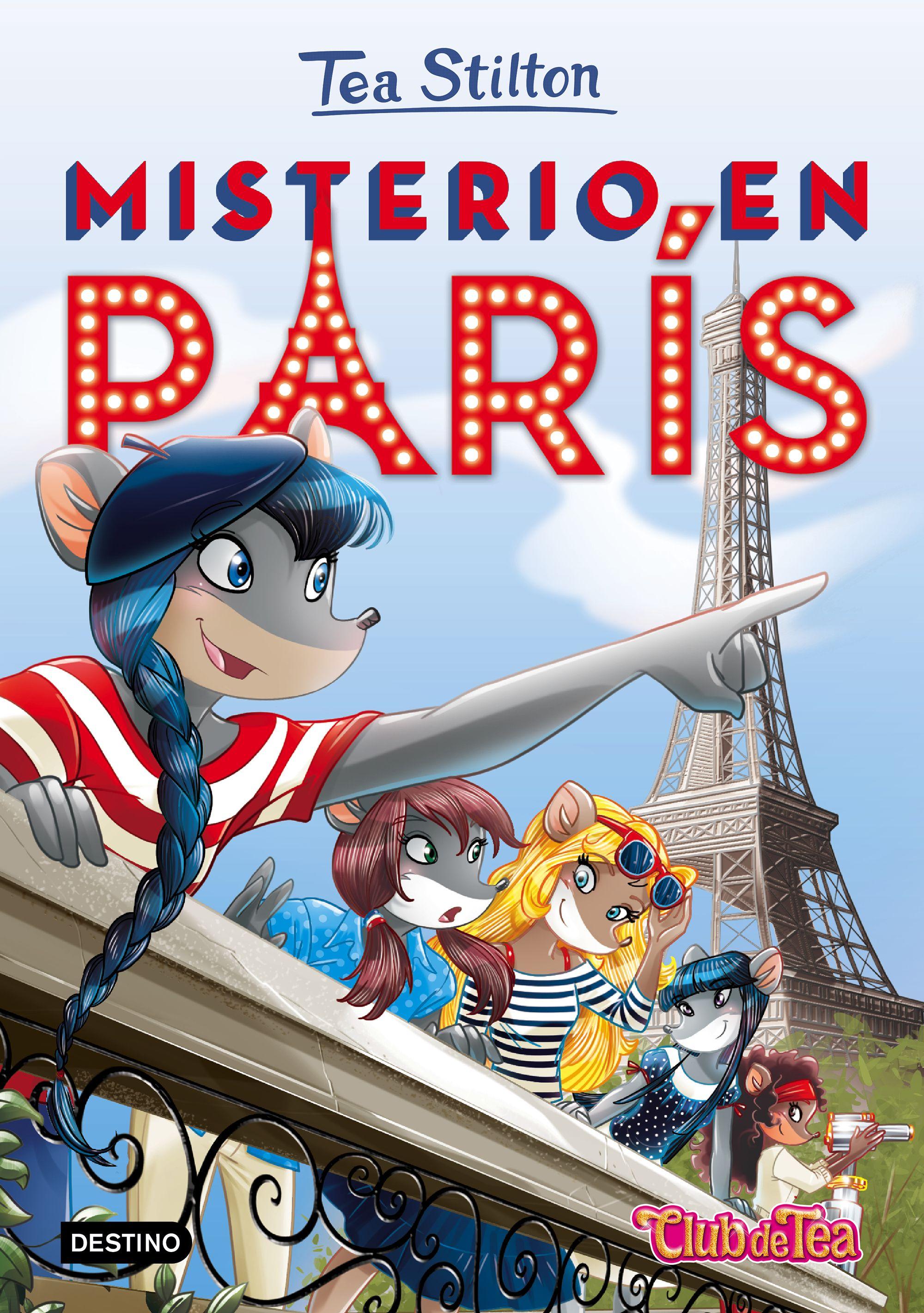 Misterio en París - Tea Stilton | I libri di Geronimo Stilton