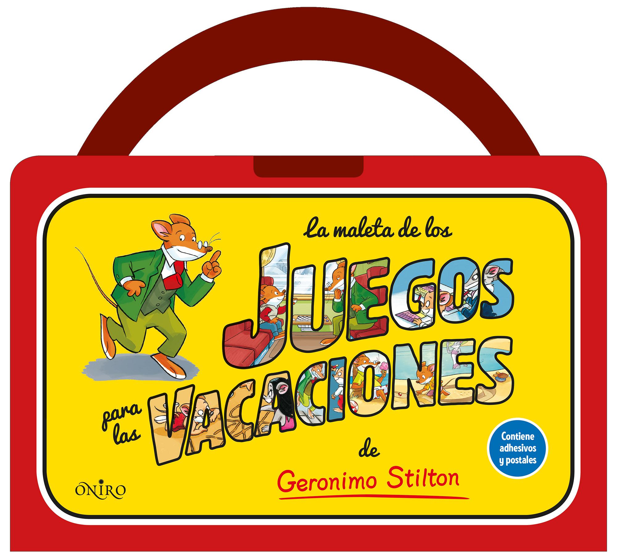 Actividades Geronimo Stilton La maleta de los juegos para las