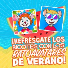 ¡Sí, sí, sí, los ratoavatares de verano ya están aquí!