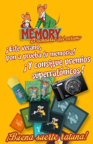 ¡Nuevo concurso para roedores memoriones!