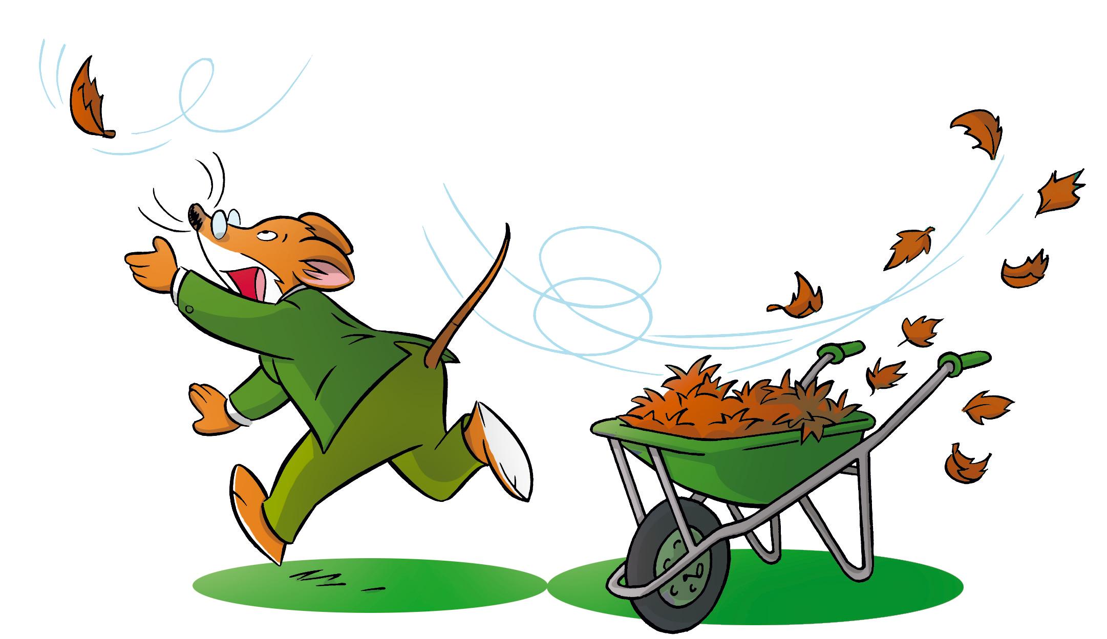 Llegó el otoño… ¡y la caída de las hojas!: Ratoblog - Geronimo Stilton