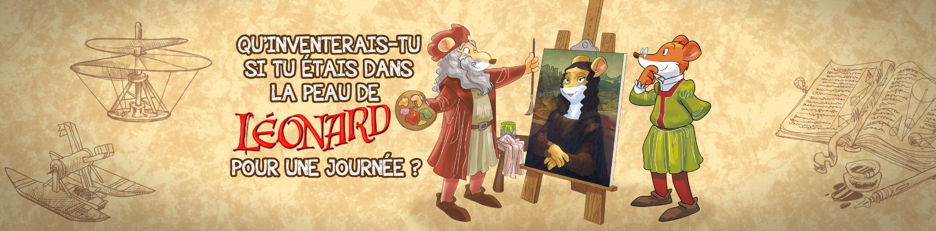 Qu'inventerais-tu si tu étais dans la peau de Léonard de Vinci pour une journée ?
