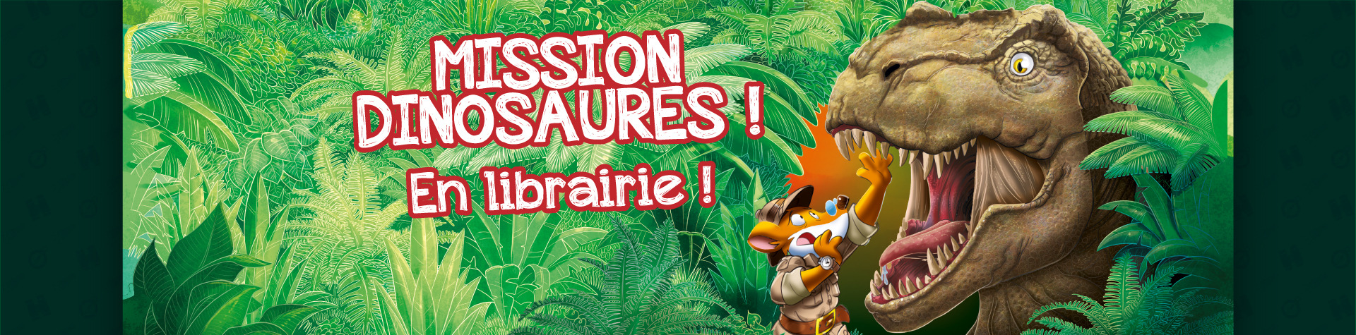 Mission Dinosaures en librairie !