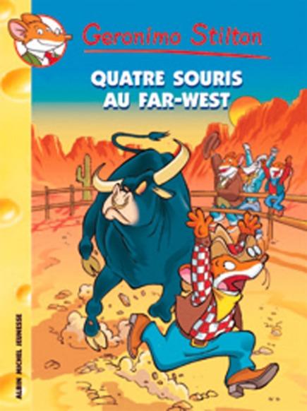 Quatre souris au Far-West