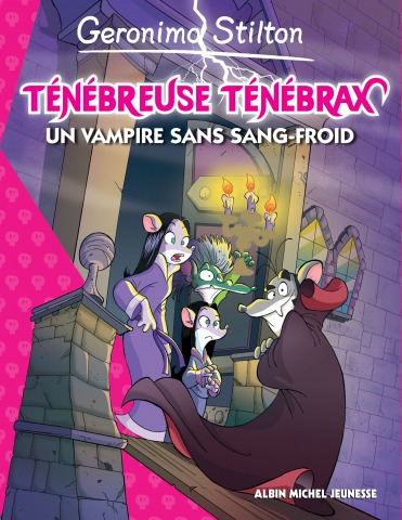 Prêts à découvrir le nouveau roman de Ténébreuse Ténébrax : Un vampire sans sang froid ?