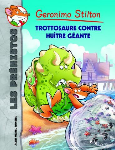 Trottosaure contre huître géante