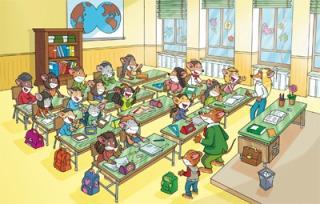 Une mystérieuse enquête à l'école...