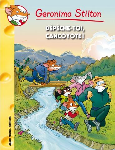 Retrouvez la forme avec Geronimo dans Dépêche-toi, Cancoyote !