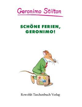 Schöne Ferien, Geronimo! (Band 6)