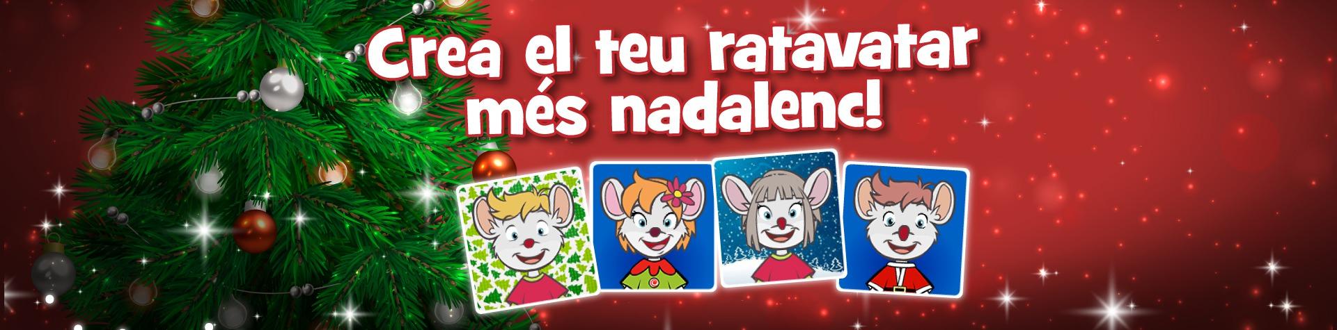 Crea el teu Ratavatar més nadalenc!
