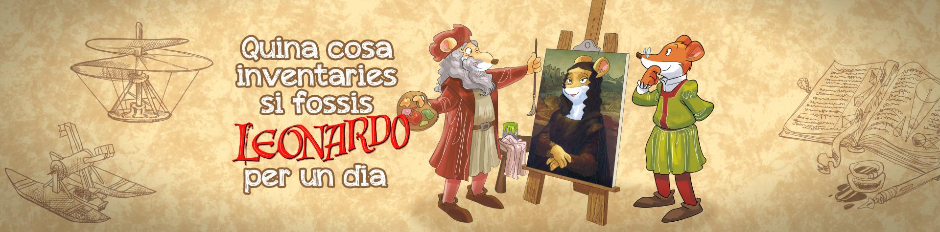Sigues Leonardo da Vinci per un dia