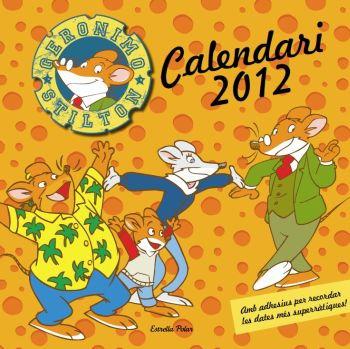 Calendari Geronimo Stilton 2012