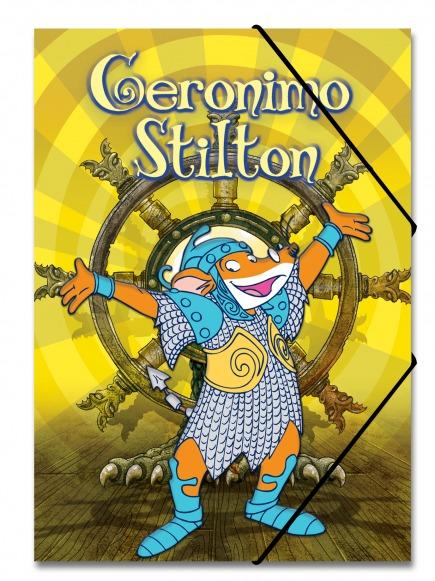 Carpeta Stilton Regne dels Dracs (groc)