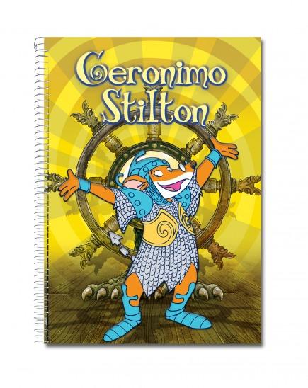 Llibreta Stilton Regne dels Dracs A5 (groc)