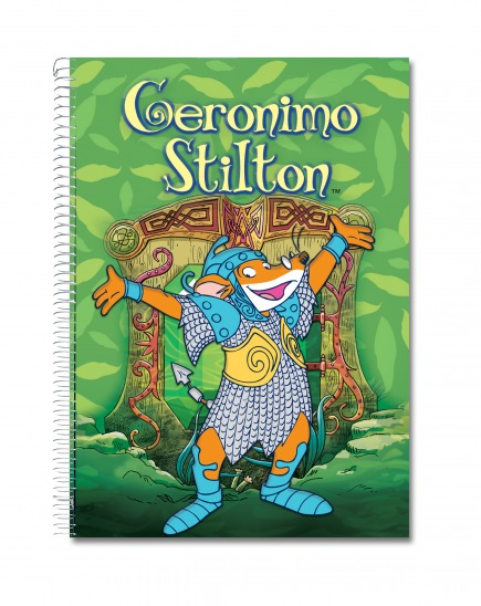 Llibreta Stilton Regne dels Follets A5 (verd)
