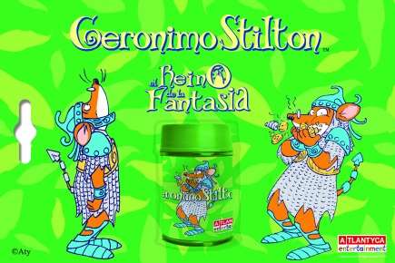Blíster maquineta Stilton Regne dels Follets (verd)