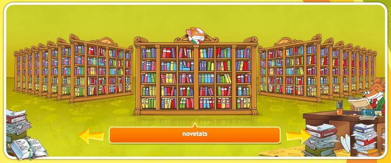Aviat, extraràtiques novetats a la Biblioteca Stilton!!