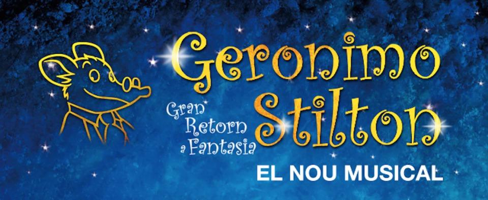 Descomptes pel nou musical de Geronimo Stilton! Gran retorn a Fantasia