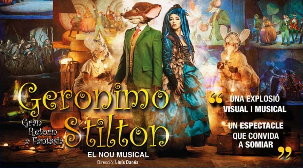 Descomptes pels últims dies del musical de Geronimo Stilton!
