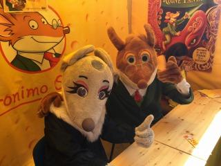 Gràcies a tots per venir a la Carpa Stilton el Dia de Sant Jordi!