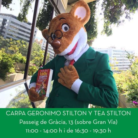 Us espero a la CARPA STILTON el dia de Sant Jordi!!