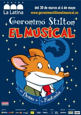 Geronimo Stilton, el musical del Regne de la Fantasia, ara a Madrid