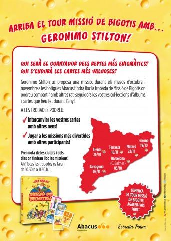 Arriba el Tour Missió de Bigotis!!! Esteu a punt?!