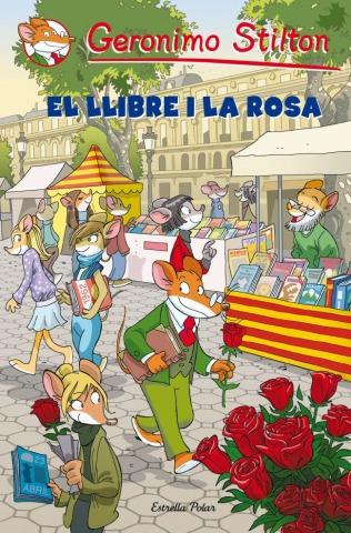 Demà ens trobem per celebrar Sant Jordi!!