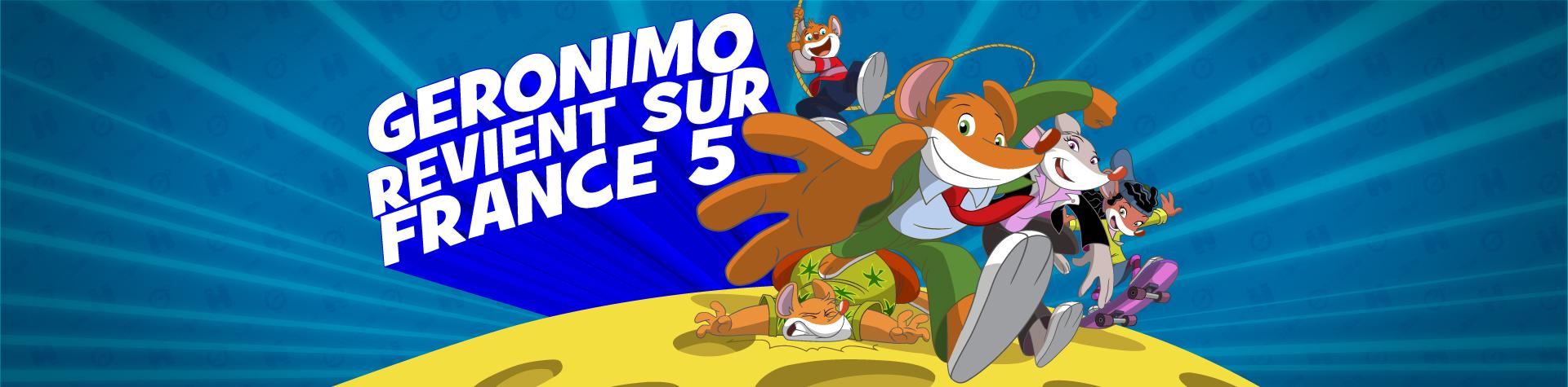Geronimo revient sur France 5 !