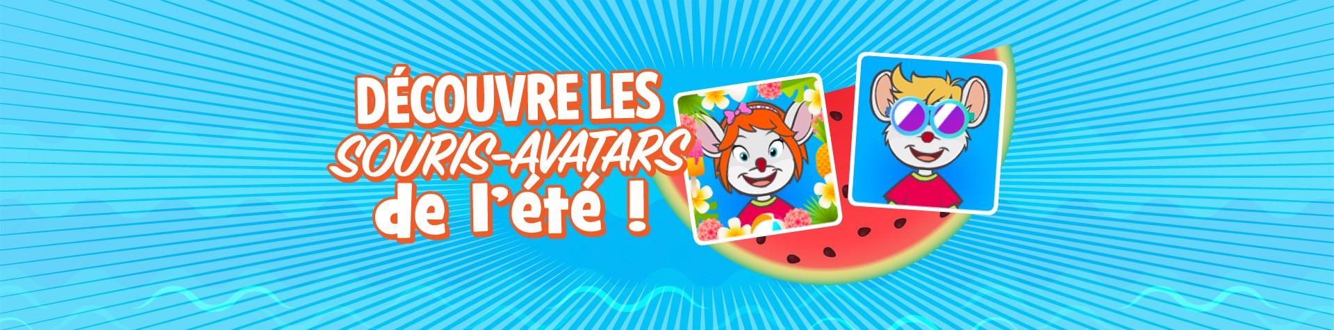 Découvre les souris-avatars de l'été