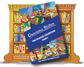 Geronimo Stilton: The 10 Book Collection (Series 3)