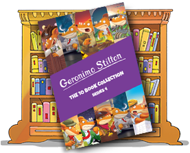 Geronimo Stilton: The 10 Book Collection (Series 4)