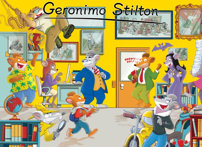 Geronimo Stilton Poster