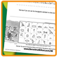 Hieroglyphics activity