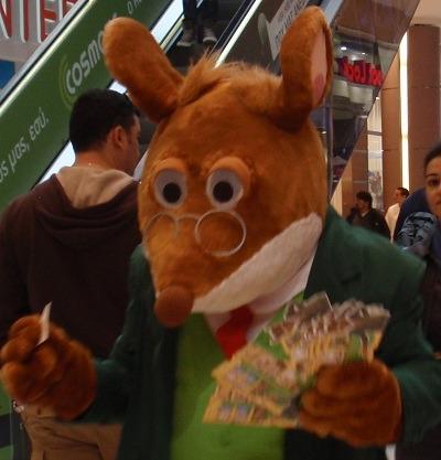Ο Τζερόνιμο Στίλτον στο 4ο Φεστιβάλ Περιβάλλοντος
