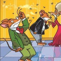 23. Ένας ευγενικός ποντικός δεν κάνει... γουρουνιές!