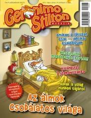 Álom, álom, édes álom! - Megjelent a Geronimo Stilton Magazin legújabb száma!