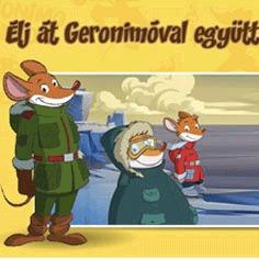 Élj át Geronimóval együtt új kalandokat!