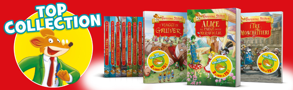 Geronimo Stilton TOP COLLECTION