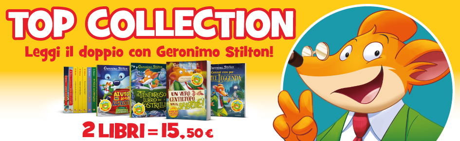 Geronimo Stilton TOP COLLECTION