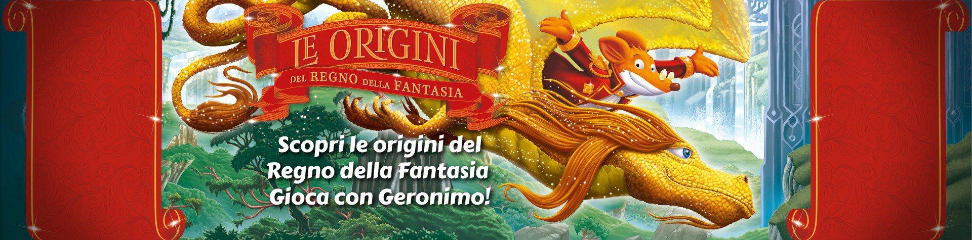 Gioca con Geronimo e scopri le origini del Regno della Fantasia