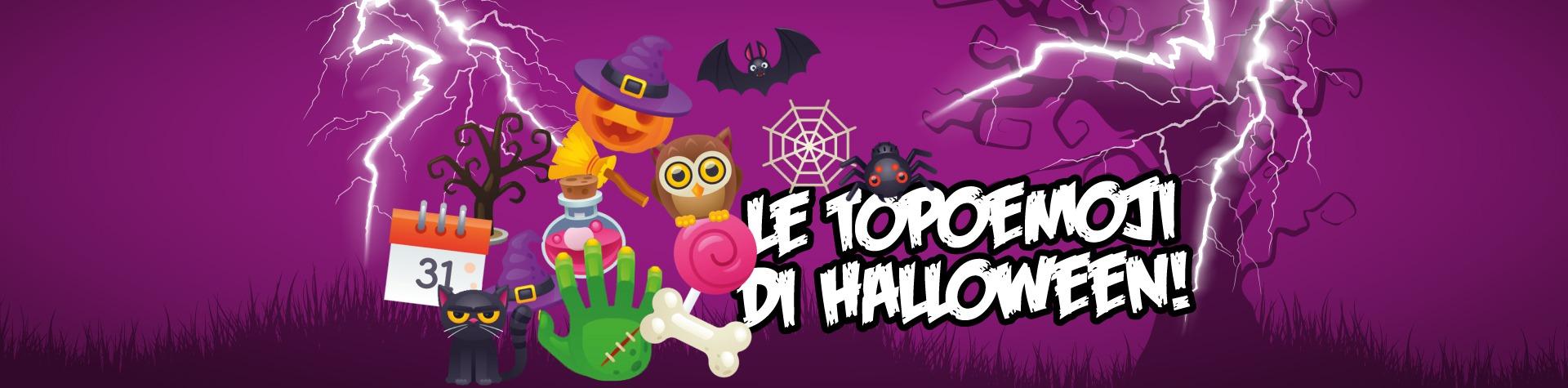 Scopri le topoemoji di Halloween!