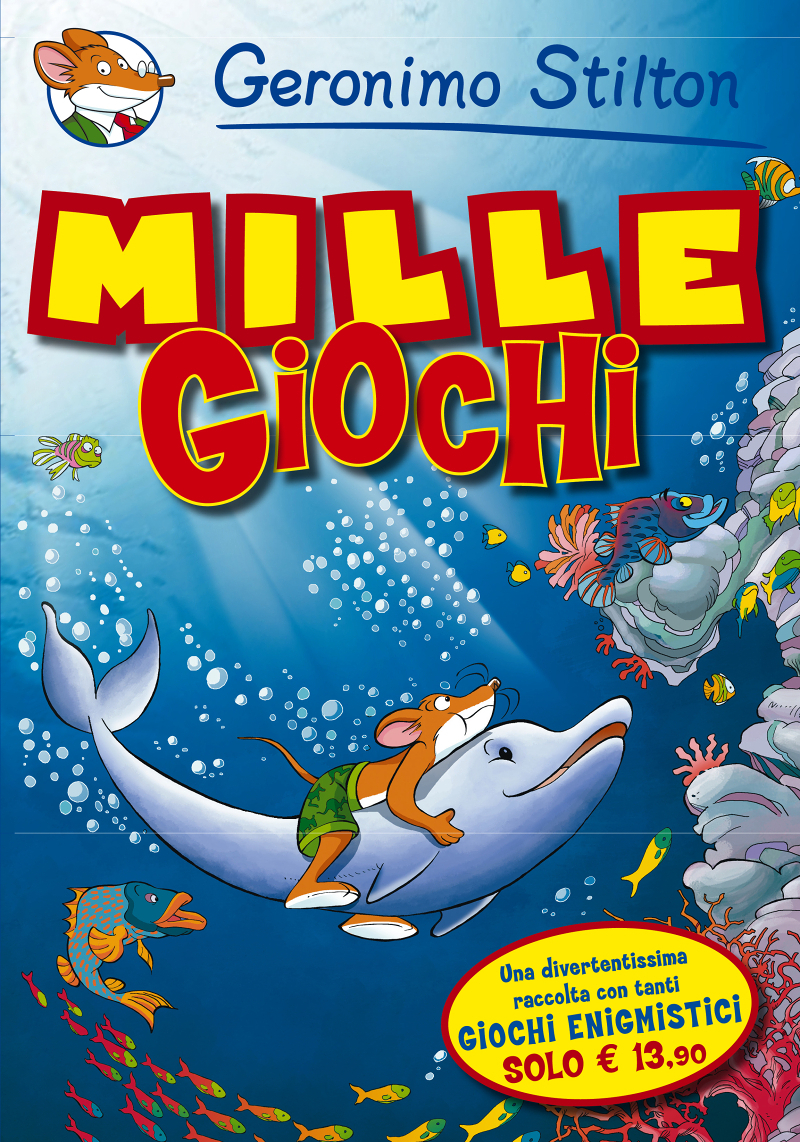 giochi e activity mille giochi geronimo stilton