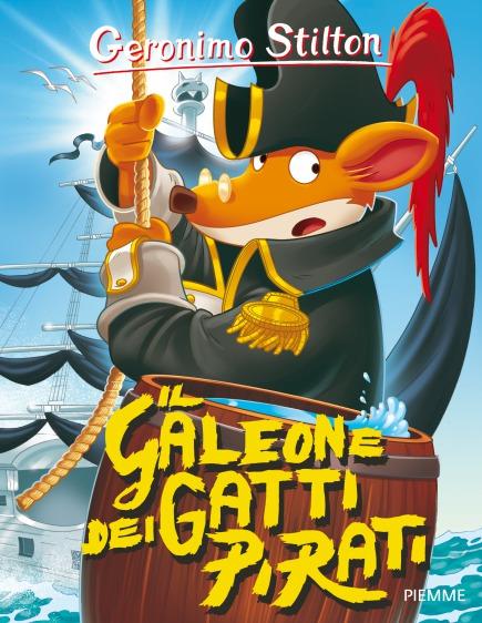 Il galeone dei Gatti Pirati
