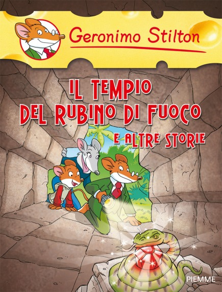 Il tempio del rubino di fuoco e altre storie