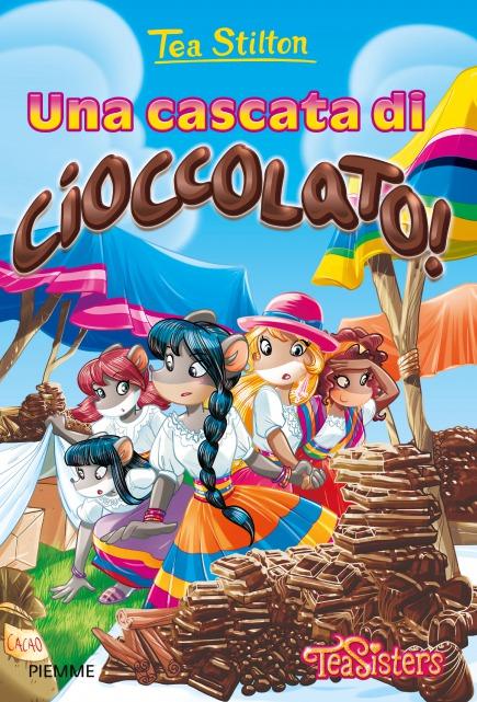 Una cascata di cioccolato!